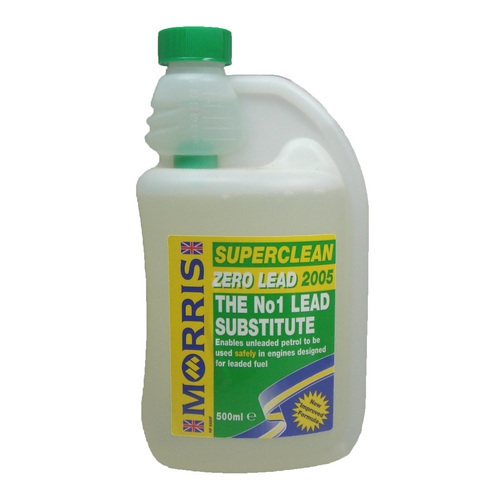 Morris Superclean Zero Lead 2005 - bezolovnaté aditivum do benzínu , 500 ml