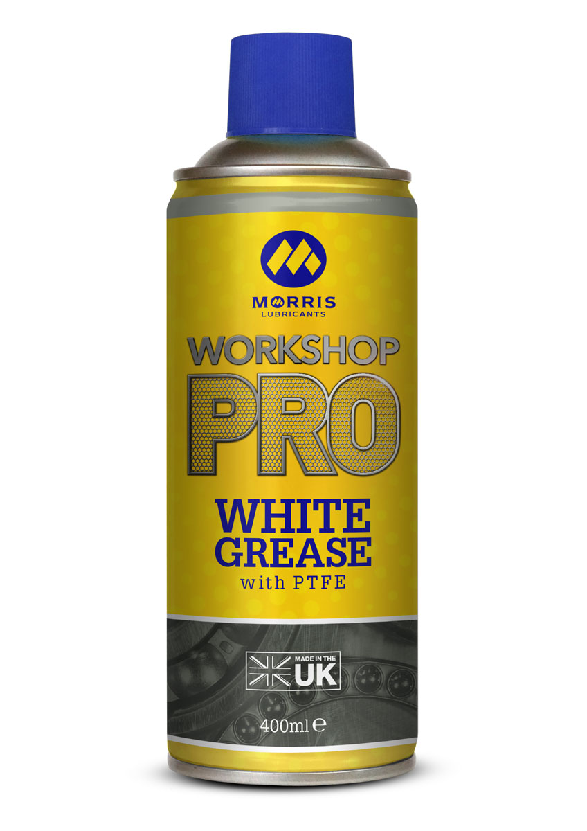 Morris WSP White Spray Grease , bílá vazelína ve spreji , 400 ml