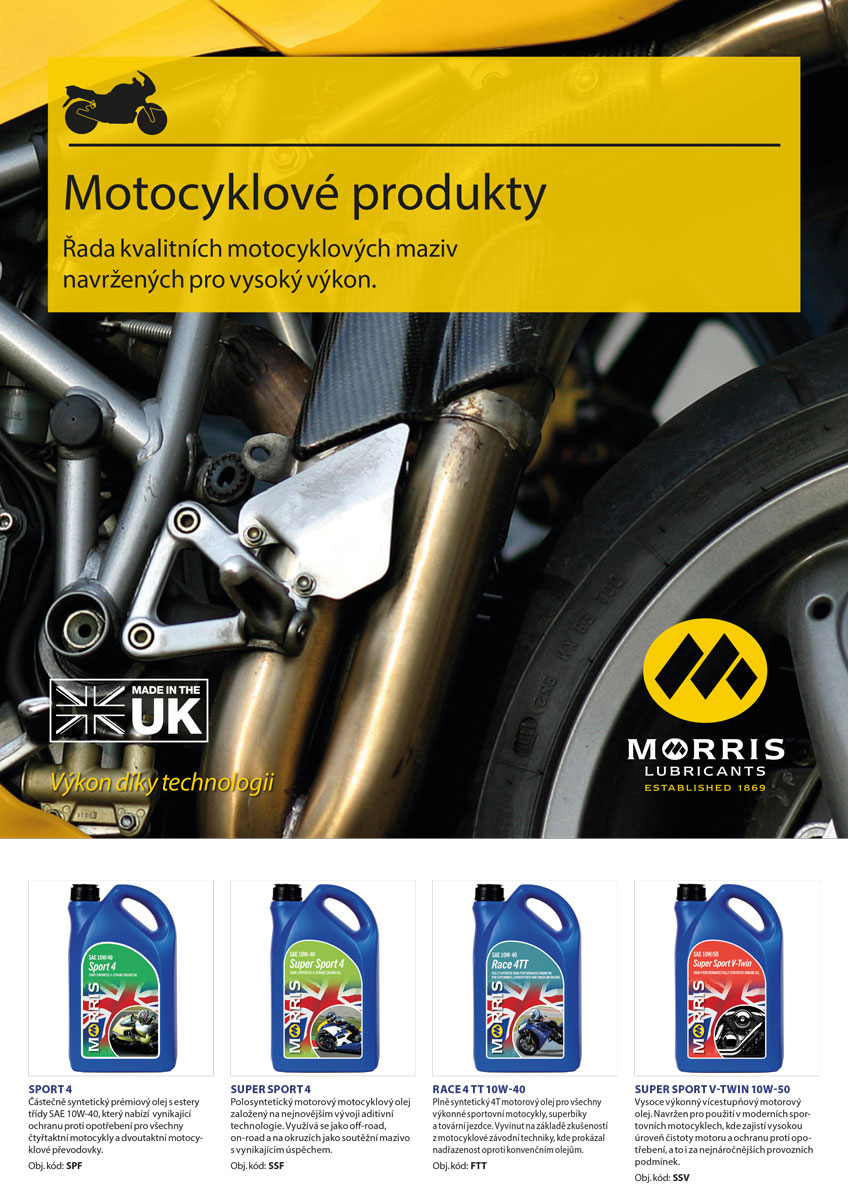 Morris SPORT ACTION 2 - motorcycle 2-Stroke Oil - racing, 4l