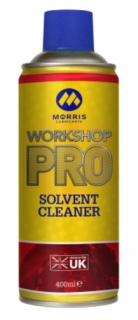 Morris Workshop Pro Solvent Cleaner, čistič a odmašťovač ve spreji, 400ml