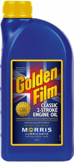 Morris Golden Film Classic 2-Stroke Oil , 1l