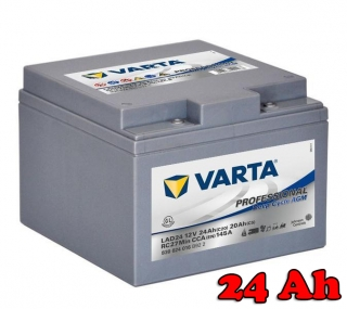 Baterie VARTA Professional Deep Cycle AGM 24 Ah / 830024 / LAD 24