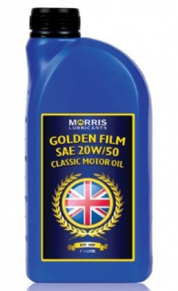 Morris Golden Film 20W-50 Classic Motor Oil , 1l