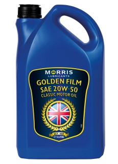 Morris Golden Film 20W-50 Classic Motor Oil , 5l