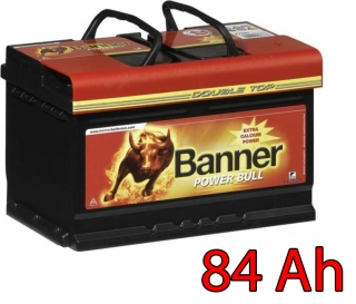 Autobaterie Banner Power Bull PROfessional P84 40, 84Ah, 12V (P8440)