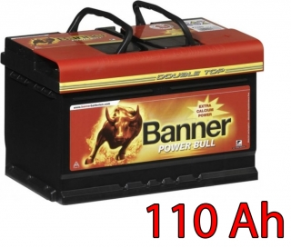 Autobaterie Banner Power Bull PROfessional P110 40, 110Ah, 12V ( PRO P110 40), technologie Ca/Ca