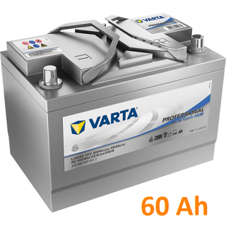 Baterie VARTA Professional Deep Cycle AGM 60 Ah / 830060 / LAD 60A