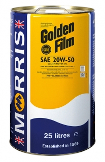 Morris Golden Film 20W-50 Classic Motor Oil , 25l