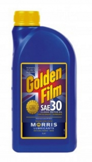 Morris Golden Film SAE 30 Classic Motor Oil , 1l
