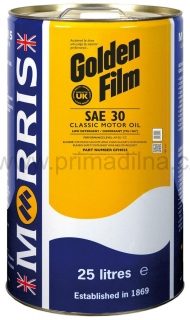 Morris Golden Film SAE 30 Classic Motor Oil , 25l