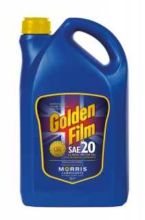 Morris Golden Film SAE 20 Classic Motor Oil , 5l