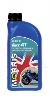 Morris Race 4TT, 10W-40 - motorcycle 4-Stroke Oil racing , 1l