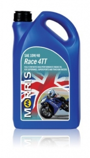 Morris Race 4TT, 10W-40 - motorcycle 4-Stroke Oil racing , 4l
