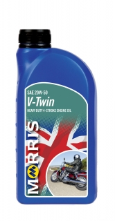 Morris V-TWIN 20W-50 - motorcycle 4-Stroke Oil, 1l