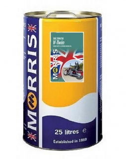 Morris V-TWIN 20W-50 - motorcycle 4-Stroke Oil, 25l