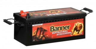 Autobaterie Banner Buffalo Bull SHD PROfessional 725 03, 225Ah, 12V (72503), technologie Ca/Ca